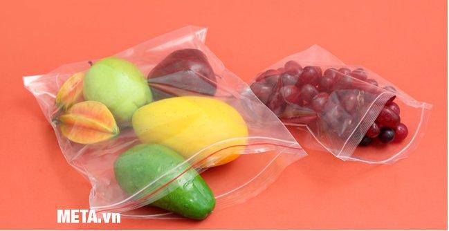 Túi đựng thực phẩm Zipper Kokusai size L20 (26.5cm x 31cm)