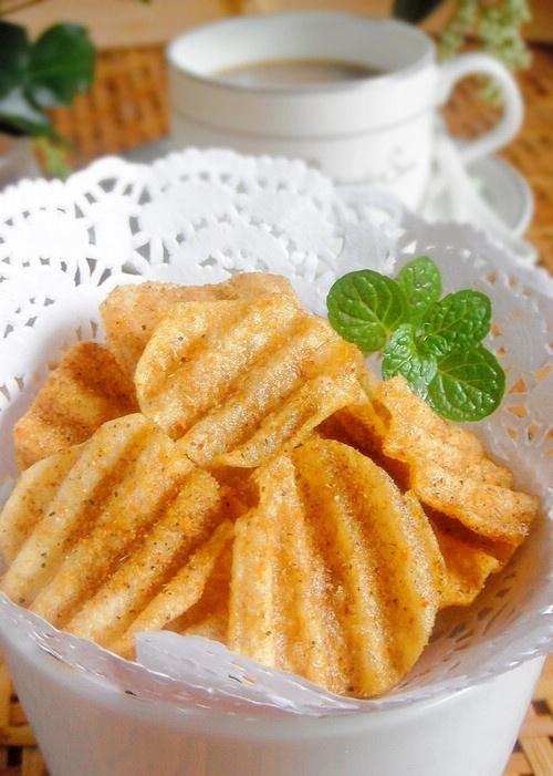 Món bim bim khoai tây lắc phô mai giòn ngon, thơm phức