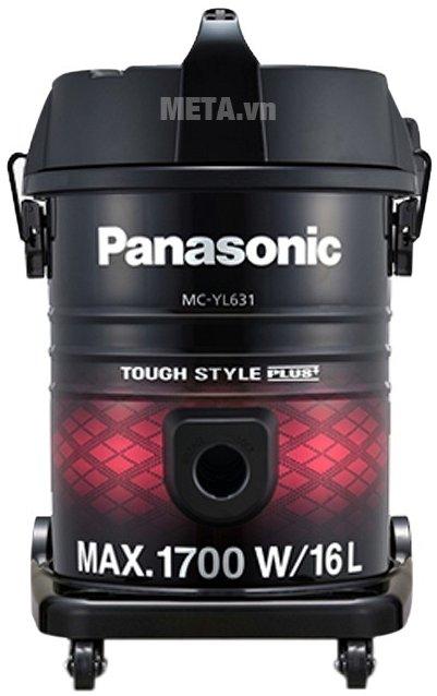 Máy hút bụi Panasonic PAHB-MC-YL631RN46 có thiết kế tiện lợi