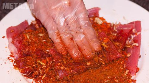 Cách ướp thịt bò khô