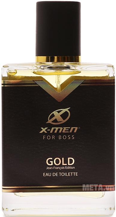 Nước hoa X-Men For Boss Gold 49ml đem đến cho phái mạnh mùi hương quyến rũ, mạnh mẽ và đầy bản lĩnh.