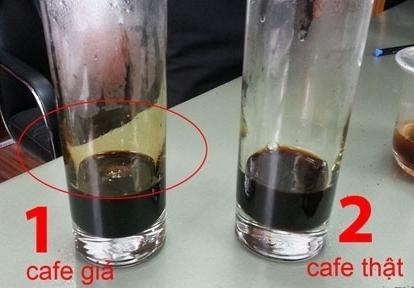Phân biệt từ bọt của cà phê