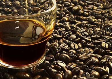 Màu nước cà phê thật.