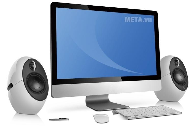 Loa không dây bluetooth Edifier E25 2.0 phù hợp với hầu hết các dòng máy tính hiện nay.