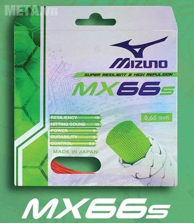 Cước cầu lông Mizuno MX66s có đường kính sợi cước 0.66mm