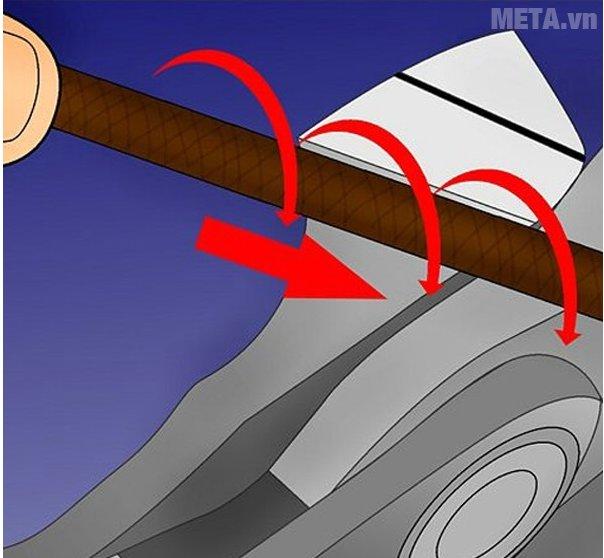 Cách dũa xích của máy cưa xích - Bước 8