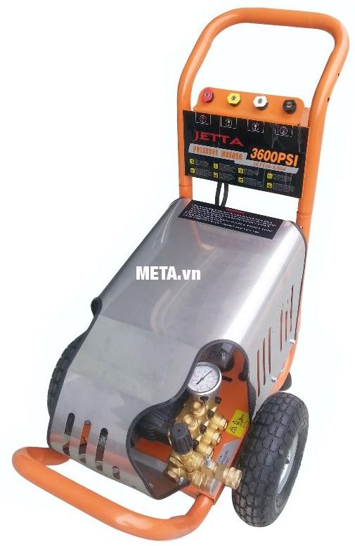 Máy rửa xe cao áp Jetta JET250-5.5T4 có công suất mô tơ 5.5KW
