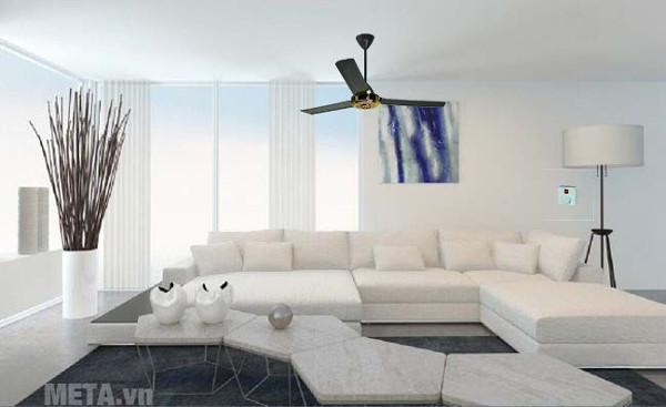 Quạt trần giúp căn phòng của bạn mát mẻ hơn