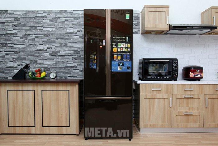 Tủ lạnh 455 lít Hitachi WB545PGV2 có thiết kế sang trọng