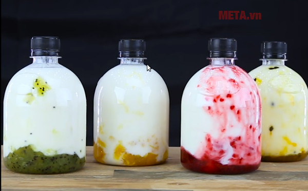 Sữa chua hoa quả giúp giảm cân đẹp da hiệu quả