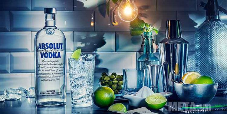 Rượu Vodka có khả năng tẩy trắng quần áo
