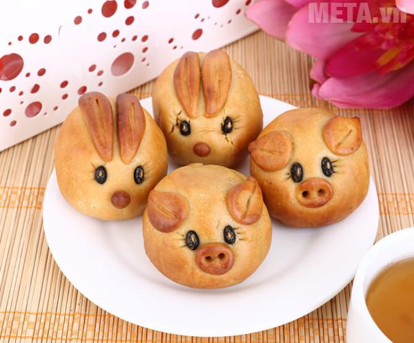 Bánh trung thu hình thú là một loại bánh được nhiều bạn nhỏ yêu thích