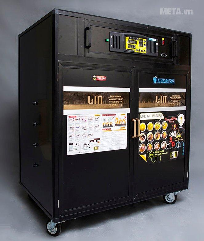Máy ấp trứng Convection LIC-800 có thể tự lọc không khí sạch khử trùng bằng tia cực tím