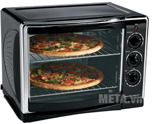 Bánh Pizza nướng trong 20 phút là bạn có thể thướng thức được rồi