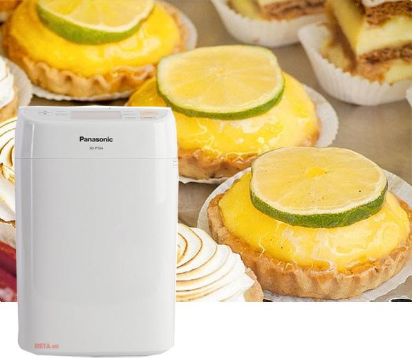 Cách làm bánh mỳ chanh với máy làm bánh Panasonic SD-P104WRA