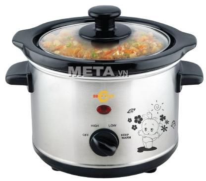 Nồi nấu cháo đa năng Hàn Quốc BBcooker BS15 (1,5 lít)