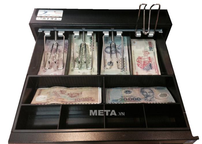 Két đựng tiền Maken EK 350 là ngăn kéo được sử dụng nhiều nhất trong ngành bán lẻ Việt Nam
