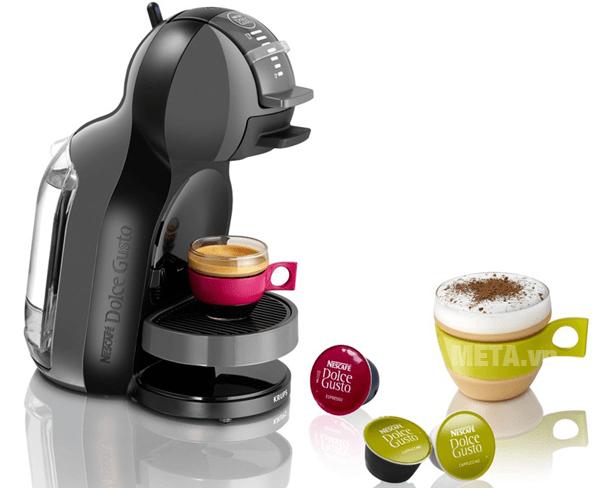 Cà phê được làm nhanh chóng với công suất 1600W