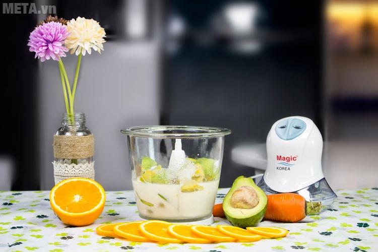 Máy xay thực phẩm Magic Korea A04 dễ dàng xay sinh tố có đá viên
