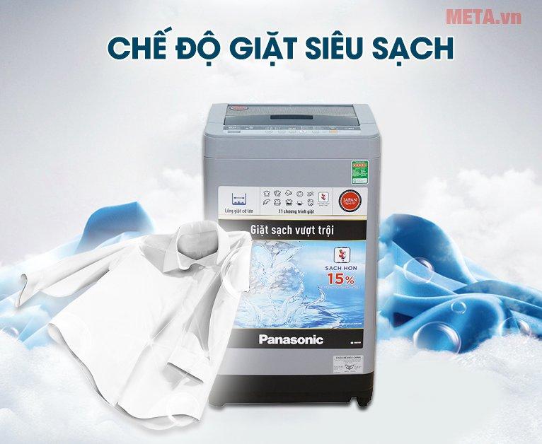 Máy giặt Panasonic 8kg NAF80VS9GRV