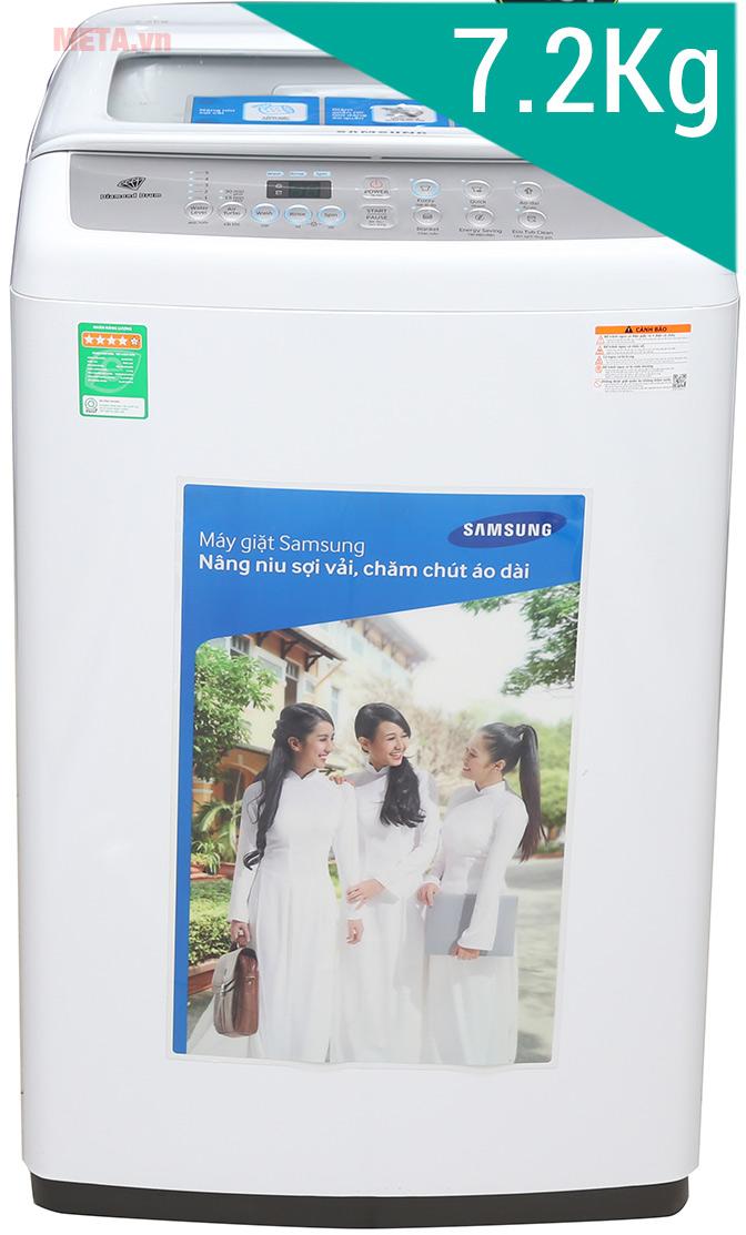 Máy giặt cửa trên Samsung 7.2kg WA72H4000SW/SV