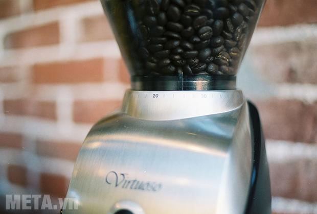 Xay nhỏ hạt cà phê theo lượng mong muốn