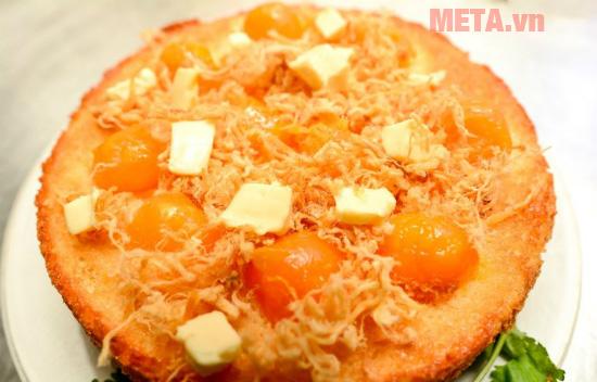 Bánh bông lan trứng muối làm với nồi cơm điện sẽ ngon kém ngoài hàng