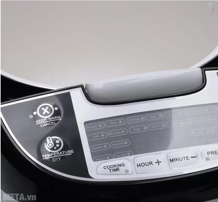 Bảng điều khiển của Máy làm tỏi đen nhiệt 4D ceramic Perfect PF-MC108