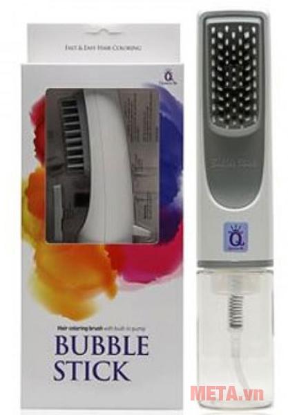 Lược nhuộm tóc thông minh Bubble Stick có hộp đựng nhỏ gọn, sang trọng