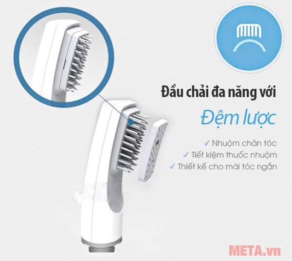 Lược nhuộm tóc thông minh Bubble Stick đi kèm đệm lược để nhuộm chân tóc và tóc ngắn
