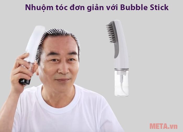 Nhuộm tóc đơn giản tại nhà với lược nhuộm tóc thông minh Bubble Stick