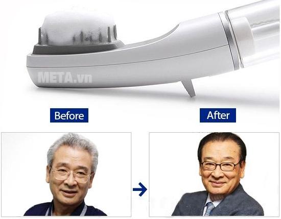 Lược nhuộm tóc thông minh Bubble Stick giúp nhuộm phủ bạc nhanh chóng cho người già