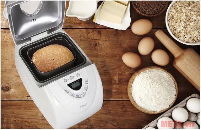 Bỏ túi những bí kíp sử dụng máy làm bánh mì, chắc chắn thành công