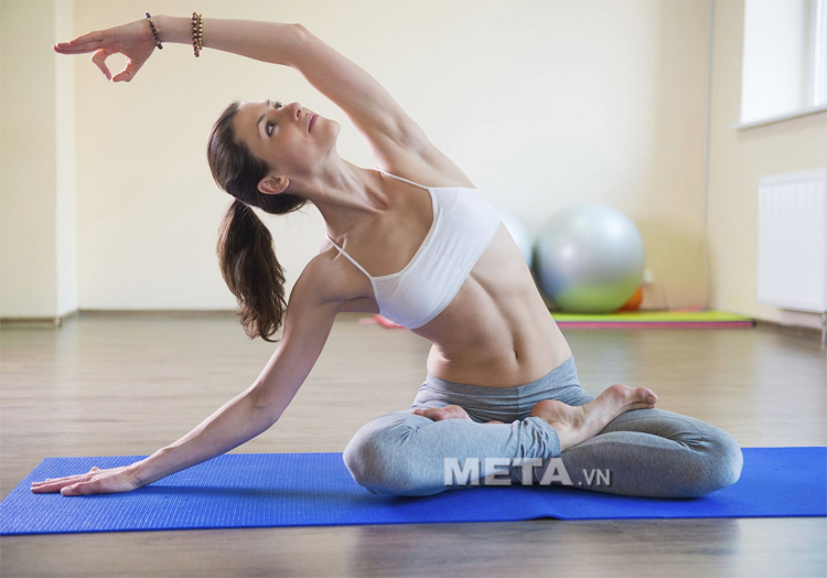 Thảm Yoga TPE Đài Loan đúc liền 1 lớp, đảm bảo không bong và tách lớp