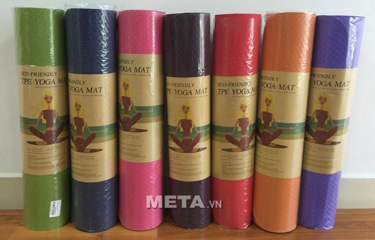 Thảm Yoga TPE Đài Loan 6 ly