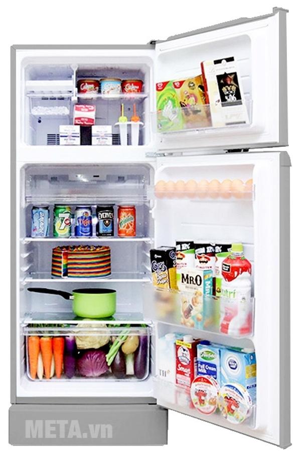 Tủ lạnh Sharp 165L SJ-171E-SS
