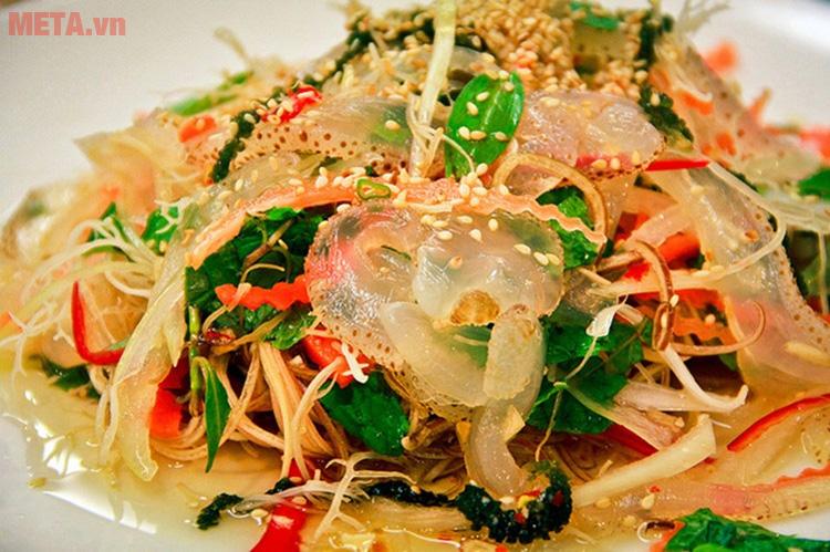Món nộm sứa ngon giòn, hấp dẫn