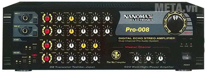 Nanomax PRO-008 dùng hát karaoke và nghe nhạc