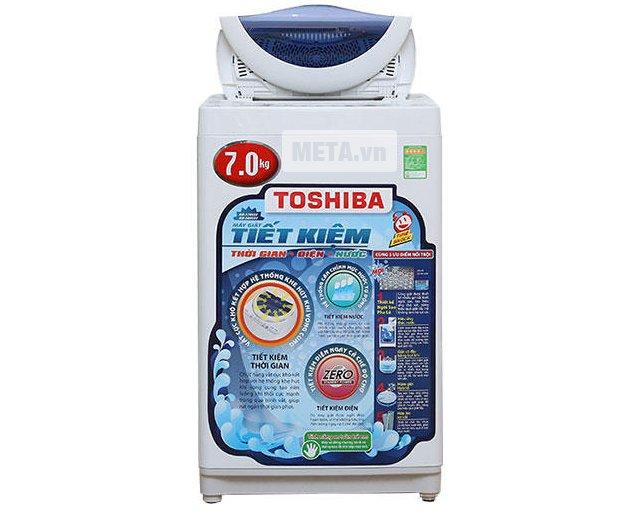 Máy giặt cửa trên Toshiba A800SV có khối lượng giặt 7kg