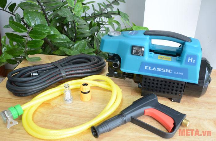 Máy rửa xe Classic CLA 1400 có mô tơ từ
