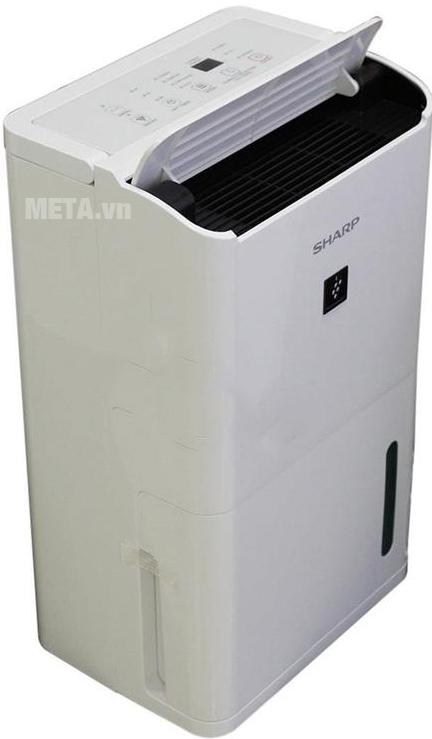 Máy lọc không khí và hút ẩm Sharp DW-D12A-W có kiểu dáng phù hợp với các hộ gia đình