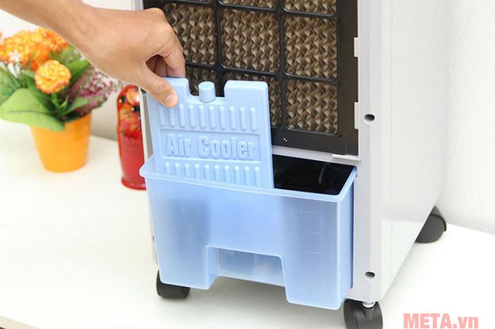 Đá khô giúp tăng hiệu quả làm mát cho máy làm mát hơn