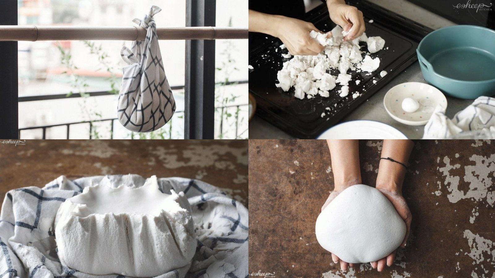 Cách chuẩn bị bột ướt làm bánh trôi, bánh chay
