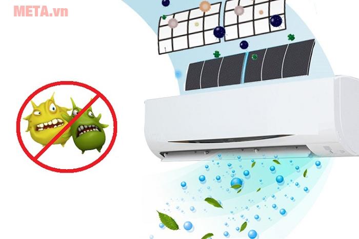 Màng lọc điều hòa, máy lạnh bị tích tụ bụi bẩn qua thời gian sẽ gây ảnh hưởng xấu tới sức khỏe của các thành viên trong gia đình.