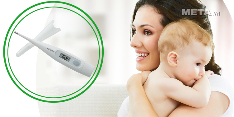 Citizen CTA-302 cho kết quả đo thân nhiệt với độ chính xác cao.