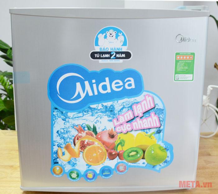 Hình ảnh tủ lạnh Midea HS-65SN