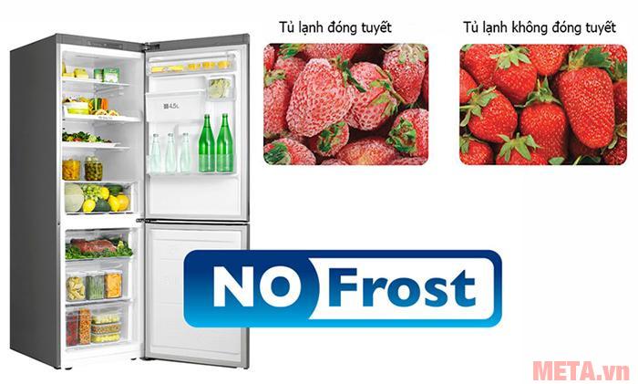 Hệ thống làm lạnh gián tiếp không gây ra hiện tượng đóng tuyết