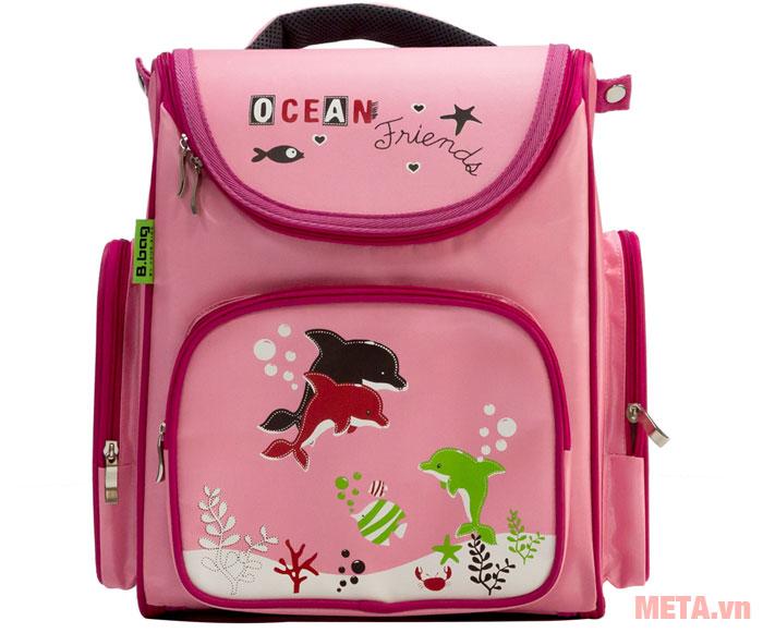 Balo chống gù Ocean Friends B-12-017