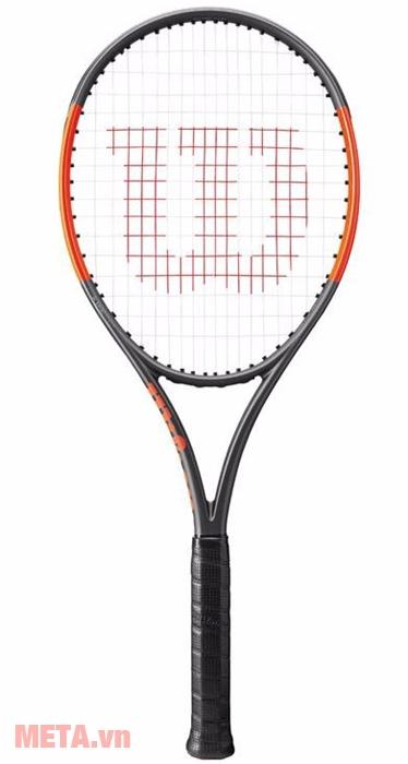 Hình ảnh vợt tennis Wilson Burn 100LS TNS FRM 2(18x16) WRT7345102