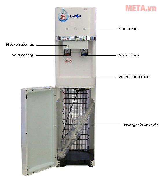 Karofi HC300-W sử dụng dễ dàng